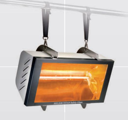 Helios Radiant Tent Heater